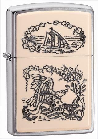 Scrimshaw Liberty Eagle