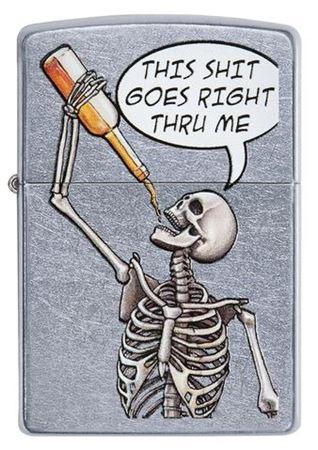 Drinking Skeleton