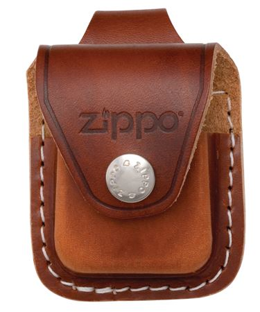 Brown Lighter Pouch-Loop