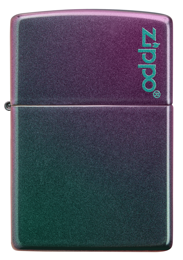 Classic Iridescent Zippo Logo
