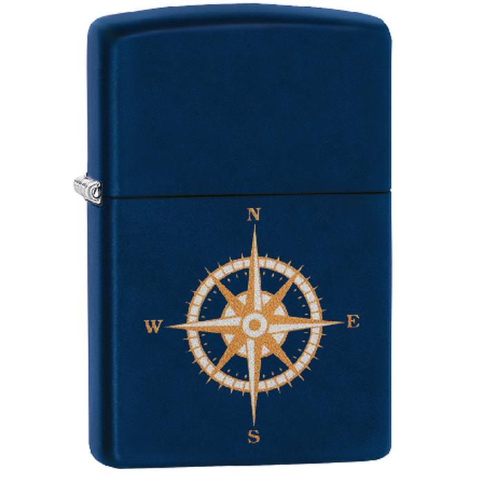 Zippo Compass Blue Matte