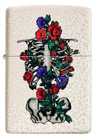 Floral Skeleton Design - All Materials