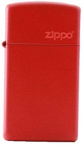 Slim® Red Matte with Zippo Logo