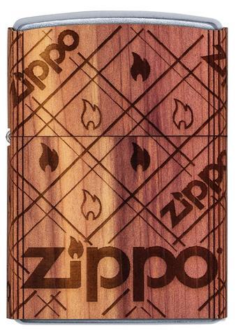 WOODCHUCK USA Zippo Cedar Wrap - All Materials