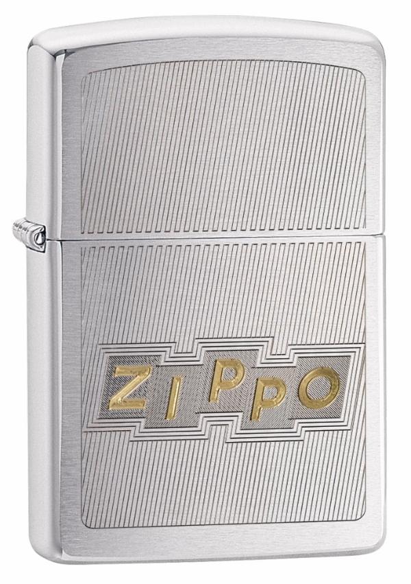 Zippo Block Letter Design